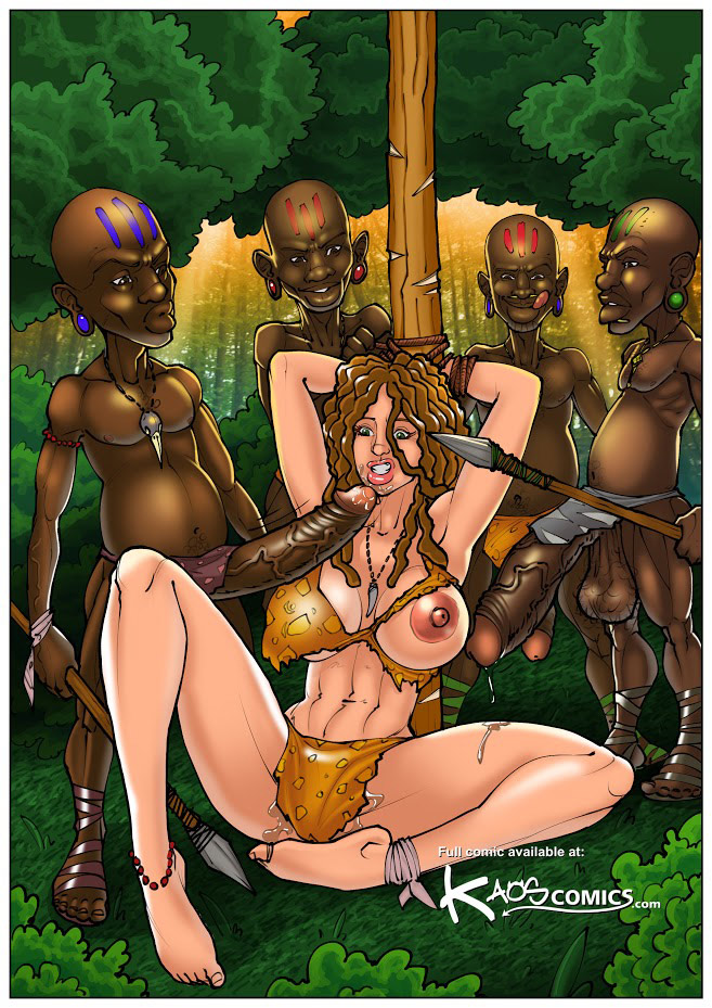 Monster cock interracial cartoon porn